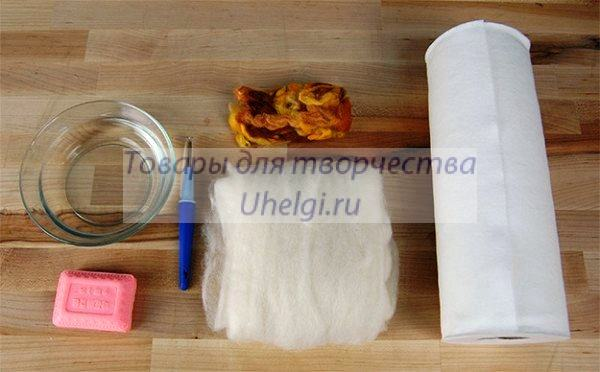 Материалы для создания мыла мочалки