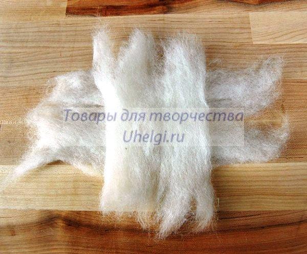 Пряжа крест-на крест для мыловарения