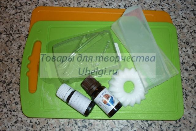 Инструменты и материалы для мыловарения
