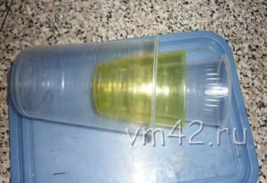 Пластиковые стаканы для мыла разного диаметра
