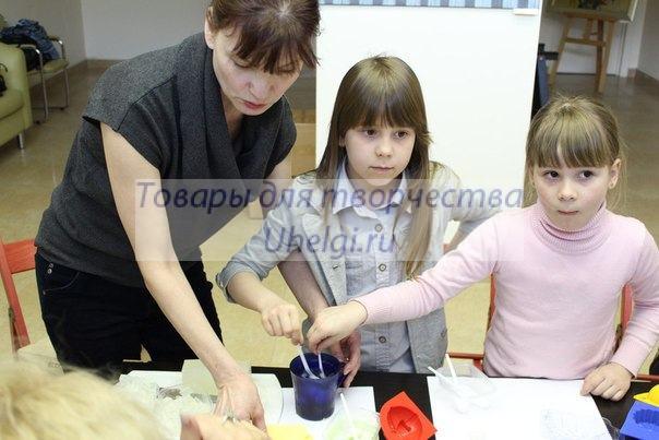 Детский мастер-класс мыловарение