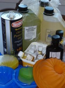 Ингредиенты для мыловарения