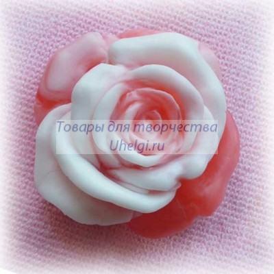 Роза маленькая Мылоручной работы