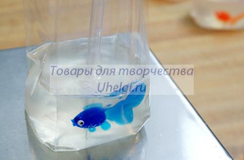 Мыло-рыбка в пакете