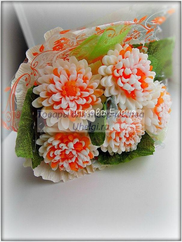 букет мыльных цветов от Лены Титковой