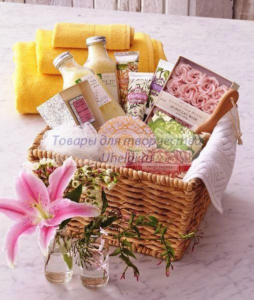 корзинка мыло
