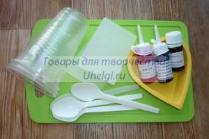 Материалы для мыла со свирлами