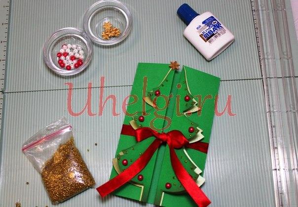 02 открытка елочка к новому году