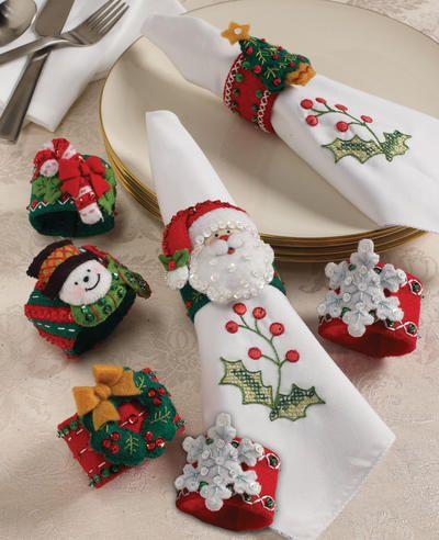 декор новогодний салфетками
