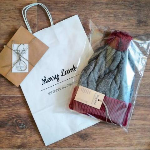 упаковка вязания ручной работы