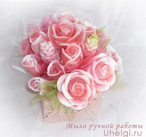 букет из мыла розы мыловарение новокузнецк