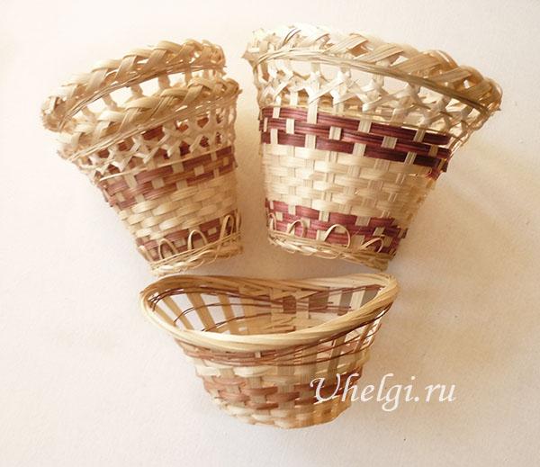 001 корзинки для букетов для мыла
