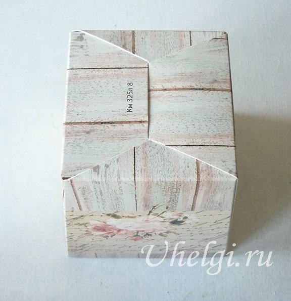 002 дно коробки для букетов из мыла