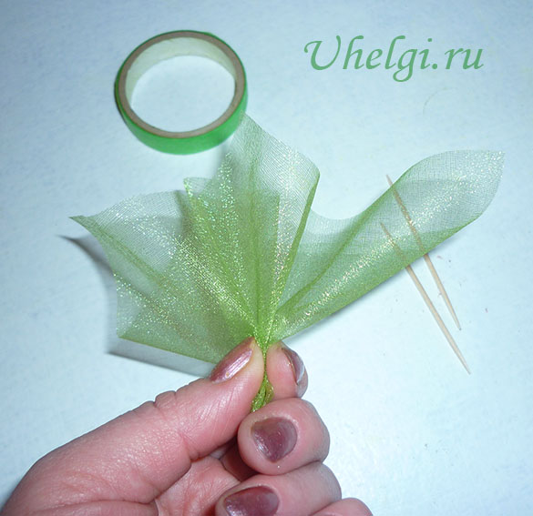 011 зелень для букетов из роз мыло