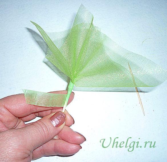 012 зелень для букетов из мыла